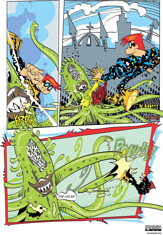 O Monstro Horripilante Gigante Cheio de Tentáculos Vindo de Outra Dimensão - Pág. 03