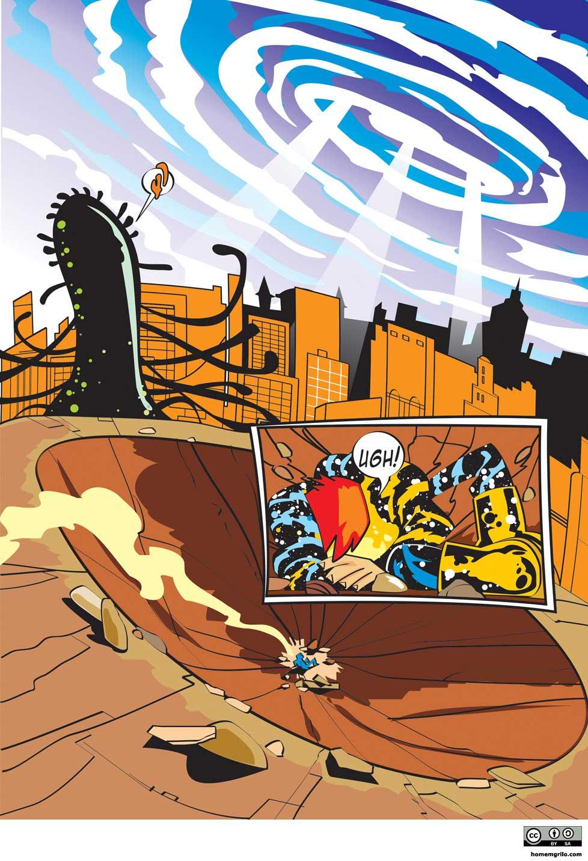 O Monstro Horripilante Gigante Cheio de Tentáculos Vindo de Outra Dimensão - Pág. 07